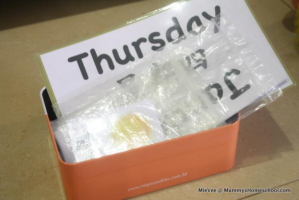 Mummy's Homeschool - Classroom Calendar box