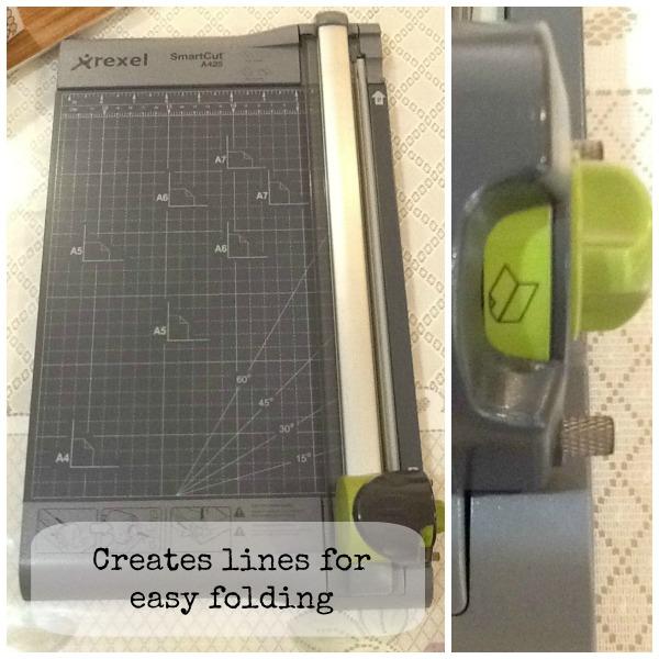 rexel SmartCut A425 paper trimmer collage