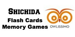 Shichida Flash Cards & Memory Games owlissimo