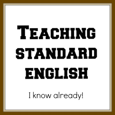 teaching standard English