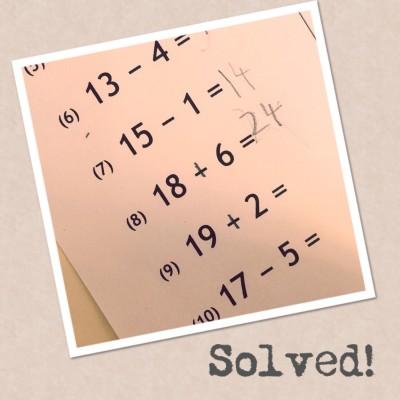 montessori math equations