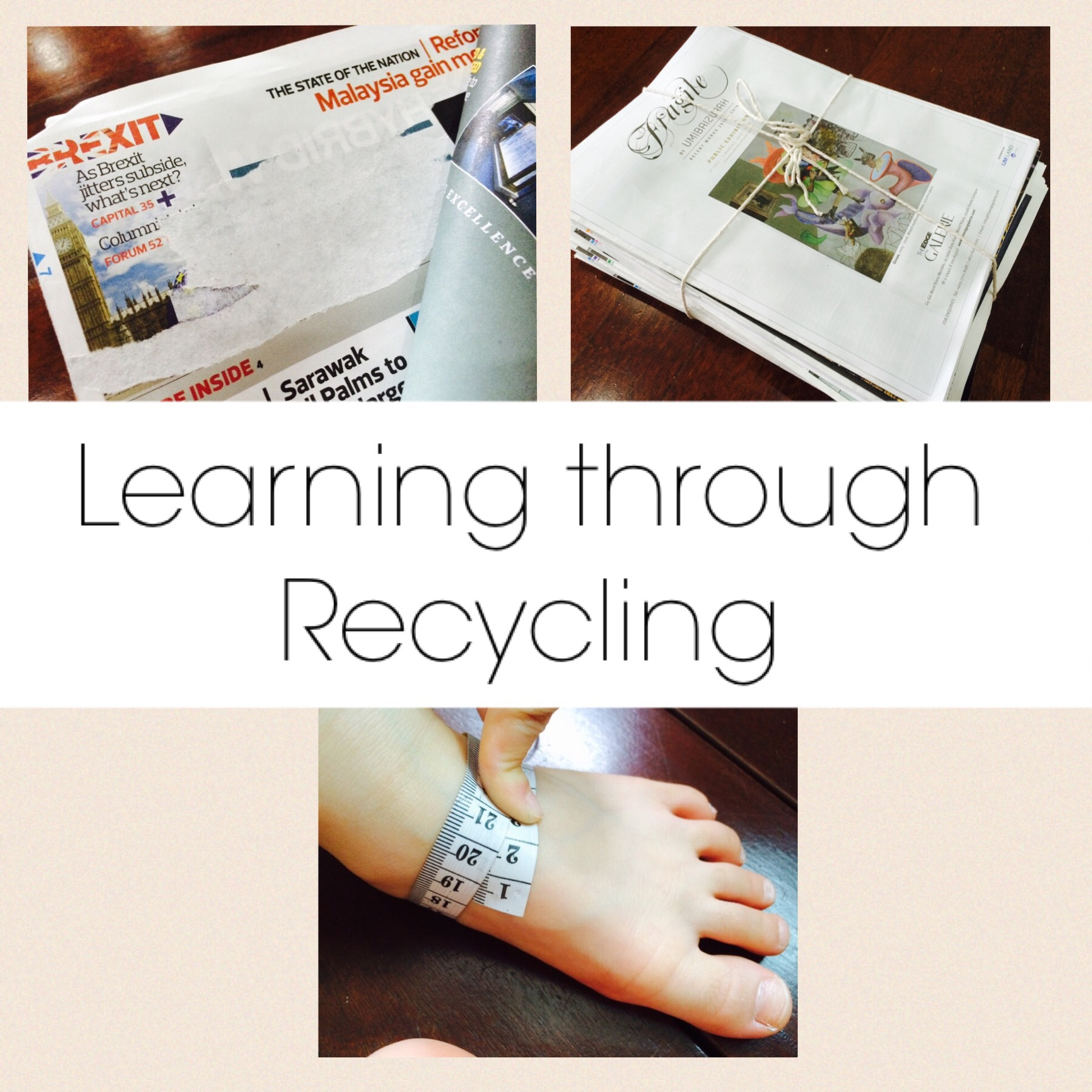 learning through recycling