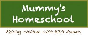 Mummy's Homeschool Banner centre