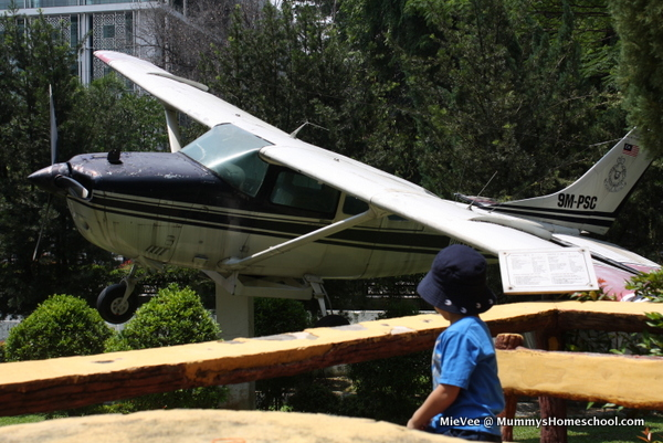 KL Police Museum aeroplane