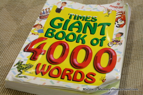 Vee 4 years 4 months - Times Giant Book of 4000 Words