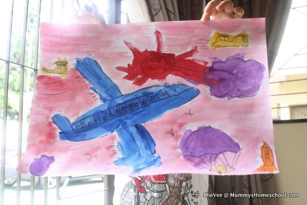 Vee Shichida image story painting