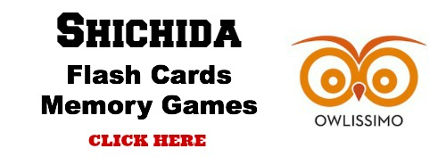 Shichida flash cards memory games