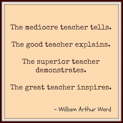great teacher quote