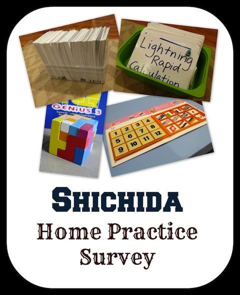Mummy's Homeschool Shichida Home Practice Survey