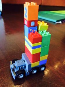 el lego duplo truck