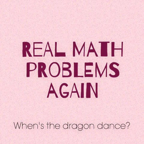 real math problems