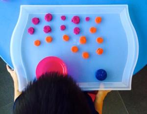 right brain math playdough