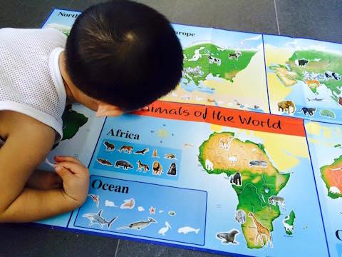 sticker atlas book 2