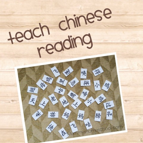 Teach Chinese reading