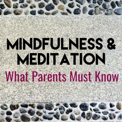 mindfulness & meditation for children