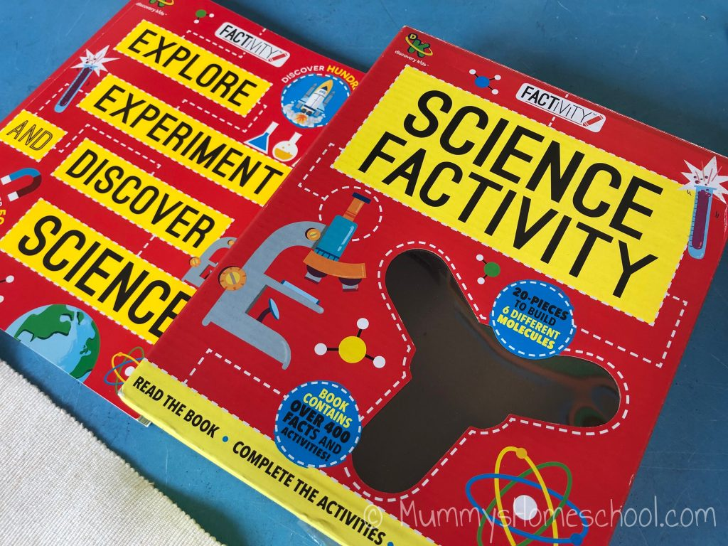 Science Factivity book