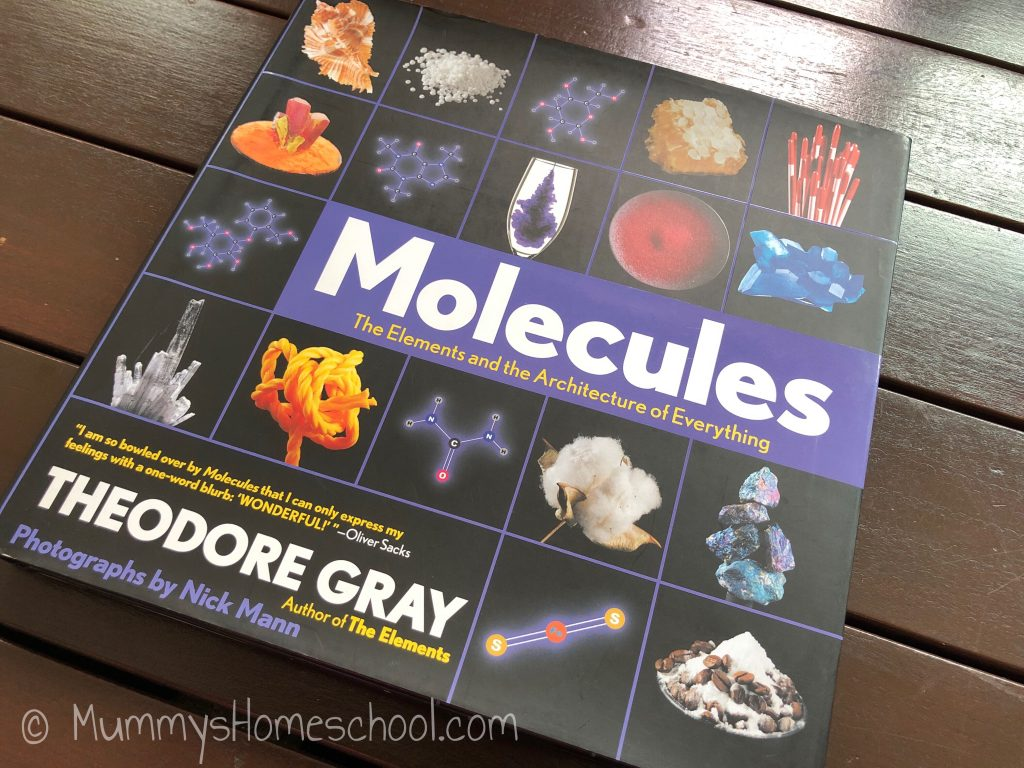 Molecules, Theodore Gray book