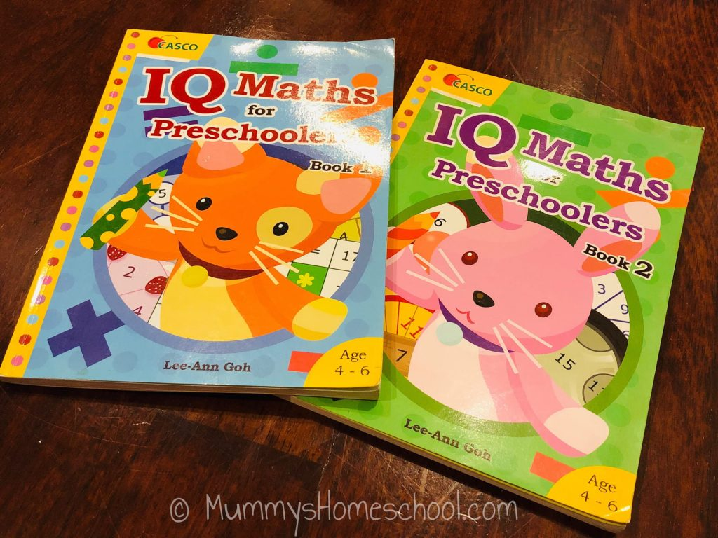 iq maths for preschoolers books