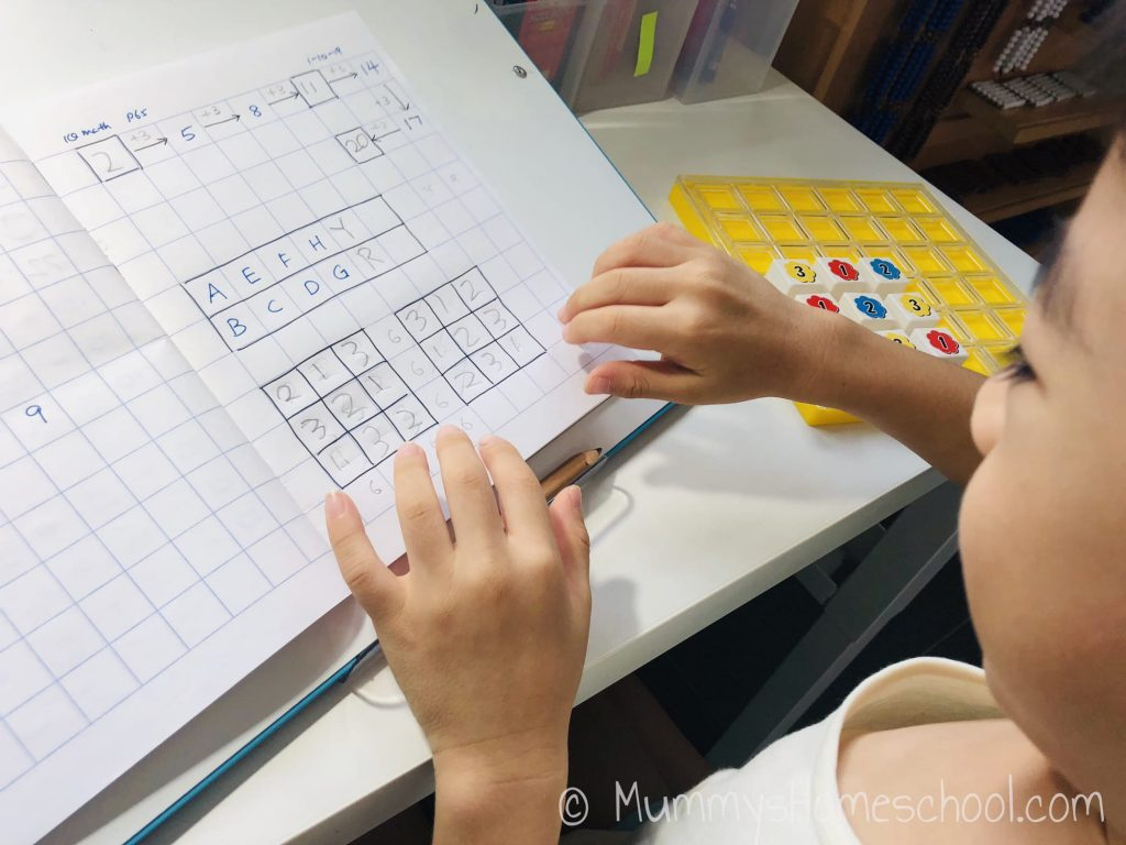 iq maths for preschoolers math patterning