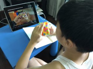 memory note-taking rubiks cube learning