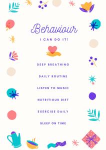 Behaviour checklist