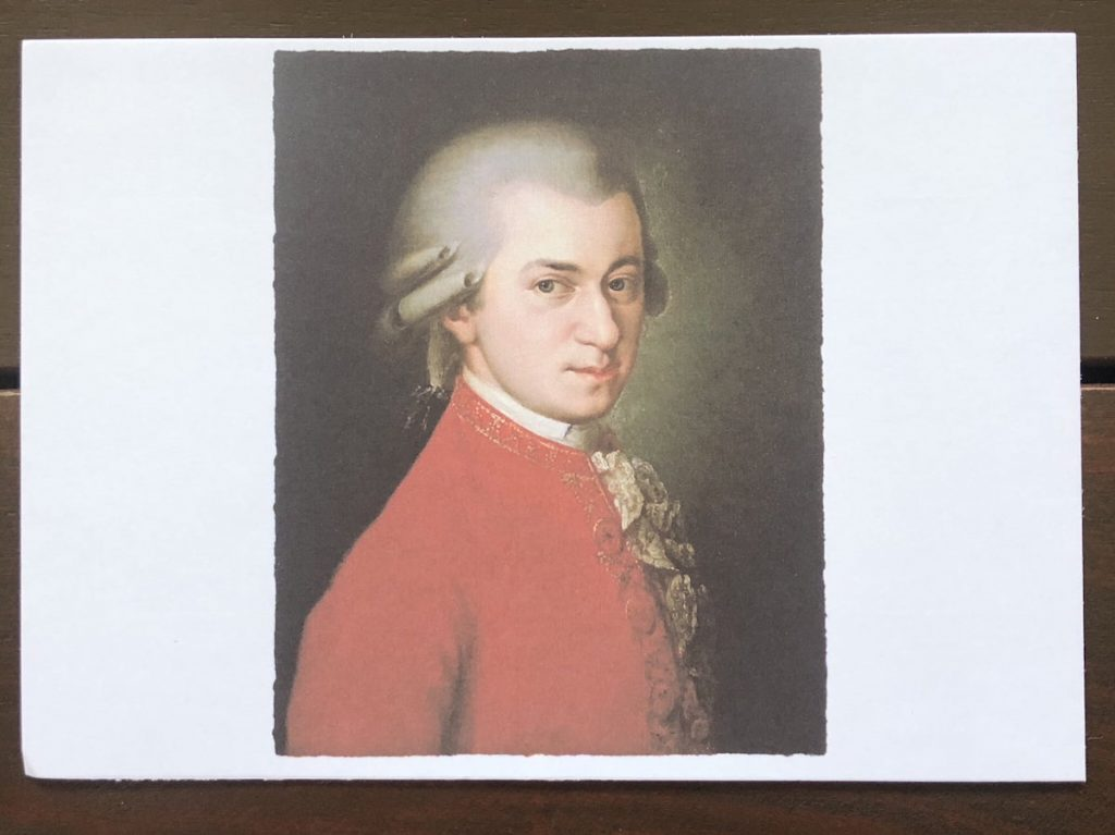 Epson L1110 print flashcards photo mozart