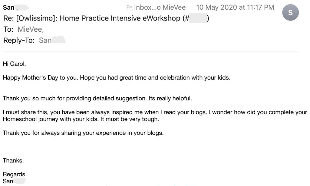 review mummy's homeschool owlissimo blog san 20200510