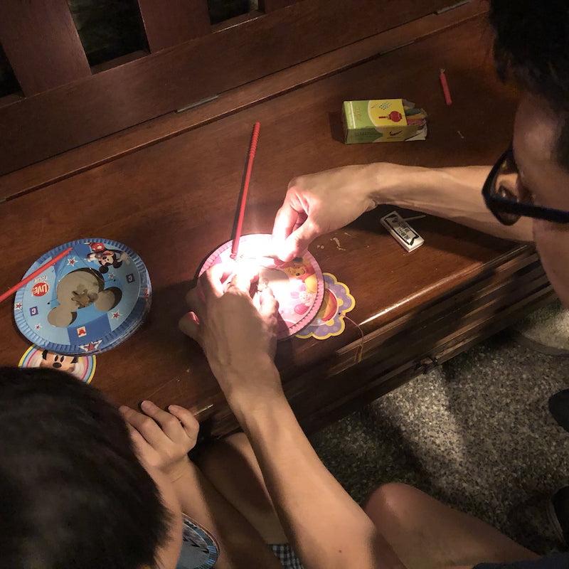 Chinese Mid-Autumn Festival light lantern