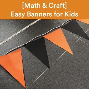 Math Craft Banner Square Cover